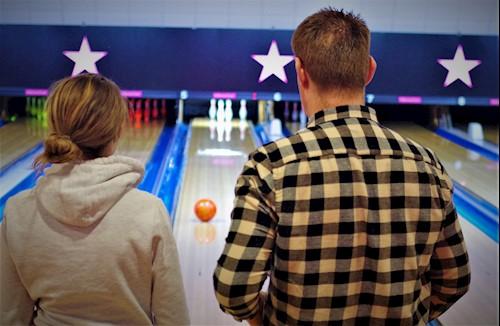 Robert enjoys bowling
