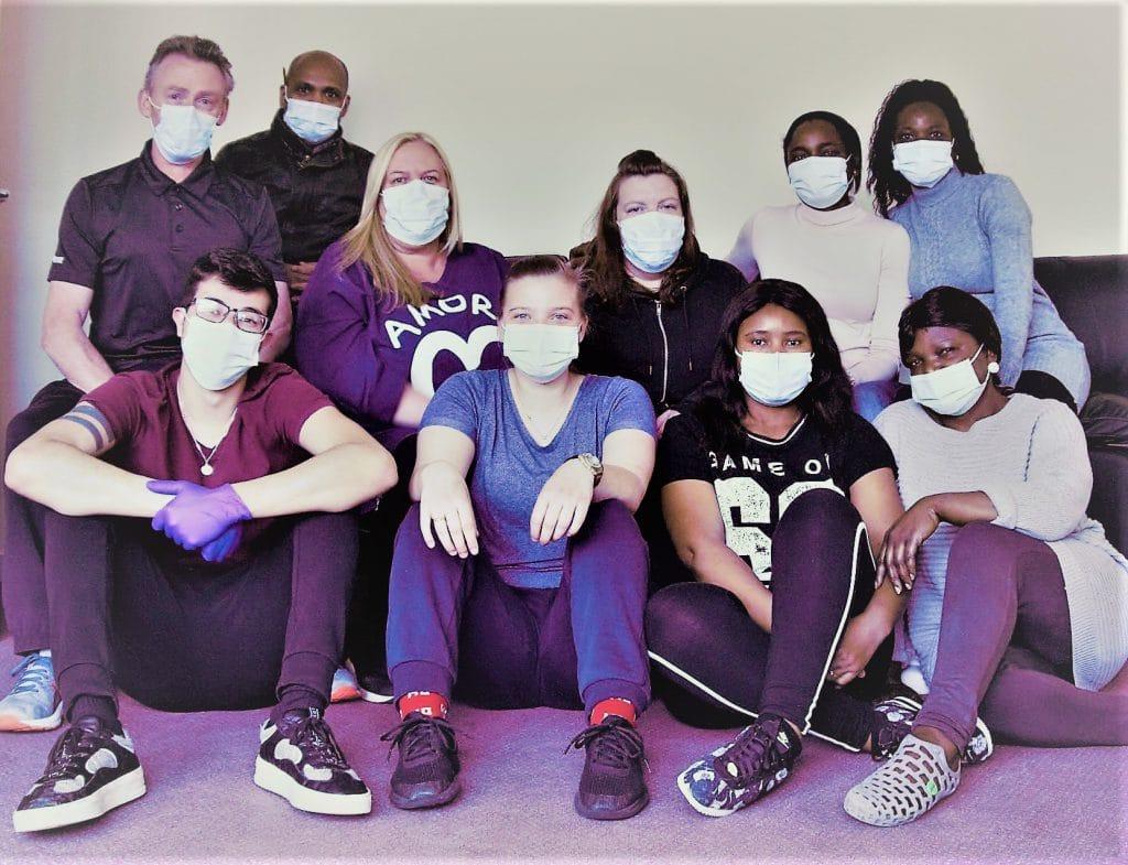 The staff team